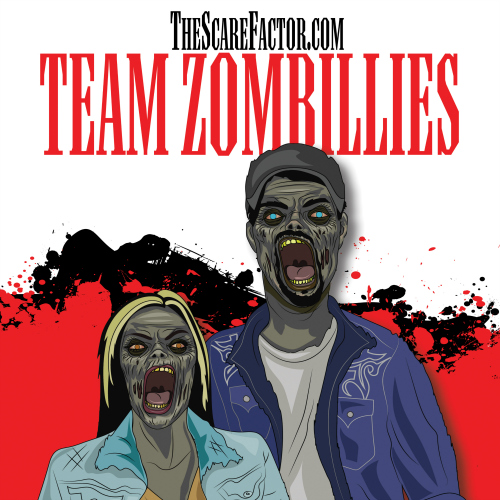 Team Zombillies - The Scare Factor's Indiana Halloween Haunted House Review Team