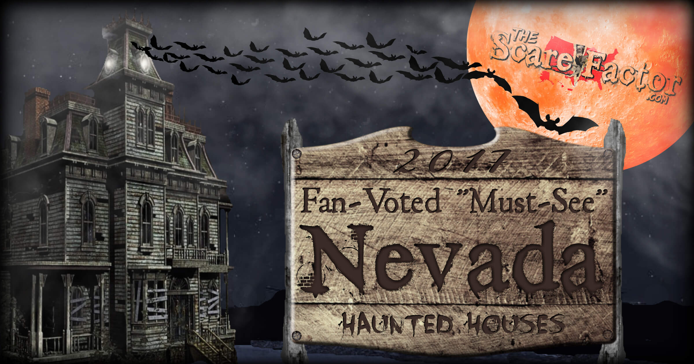 2017 top nevada haunted houses the scare factor