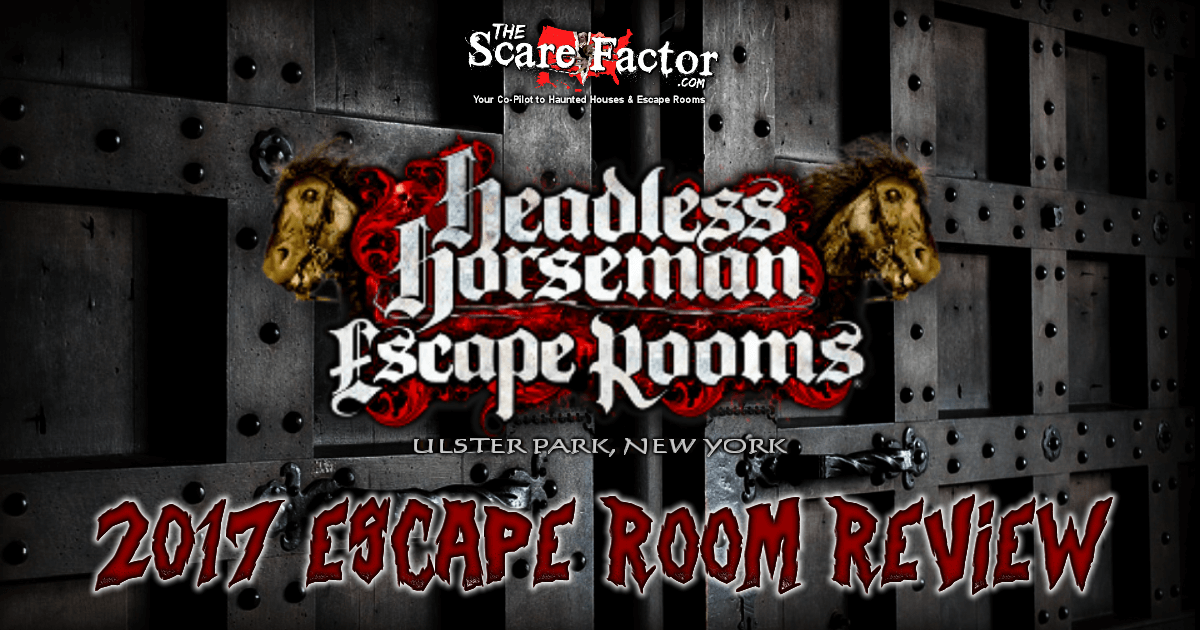 The Inheritance Room at Headless Horseman Escape 2017 Review