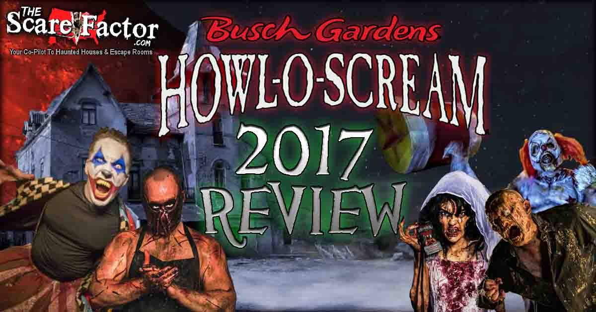 Howl O Scream Review The Scare Factor Haunt Reviews - 22 side splitting haunted house reactions