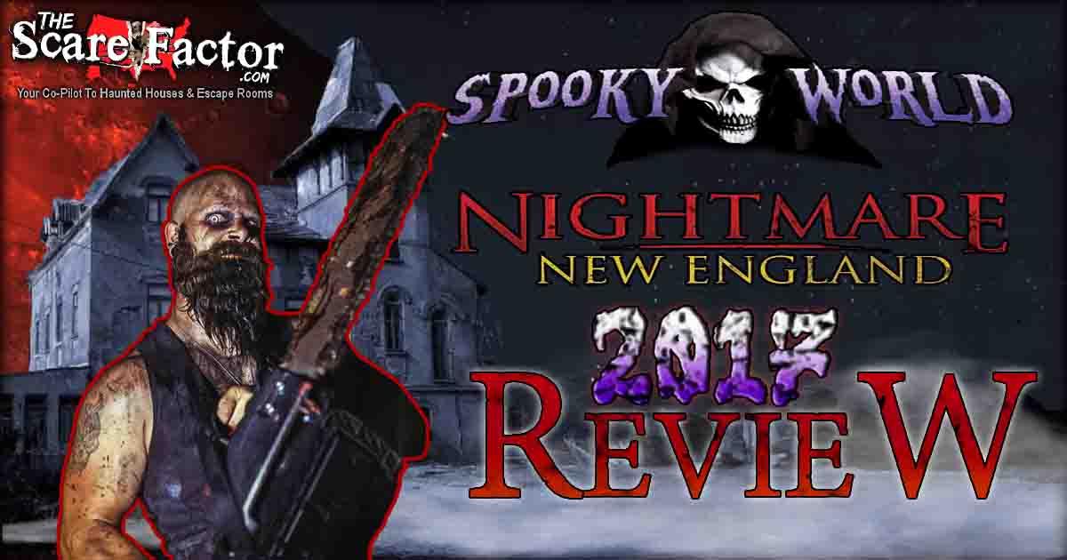 Spooky world reviews
