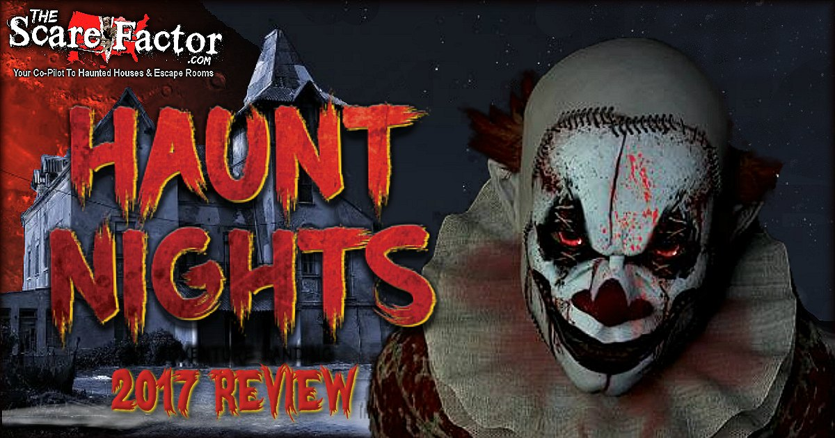 Haunt Nights At Adventure Landing 2017 Review The Scare