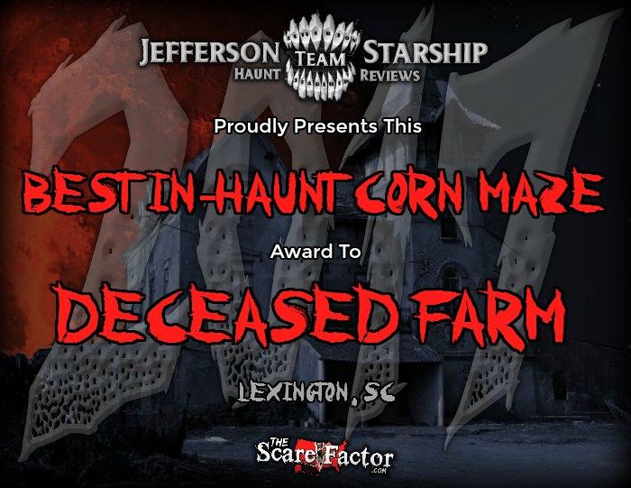 Best In-Haunt Corn Maze