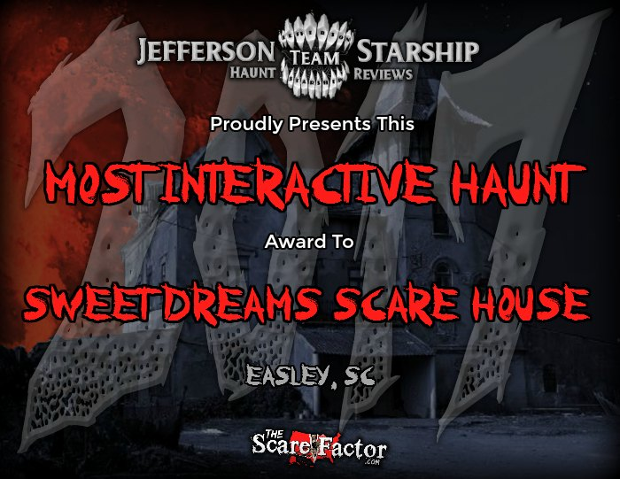 Most Interactive Haunt Award