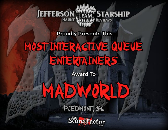 Most Interactive Queue Entertainers Award