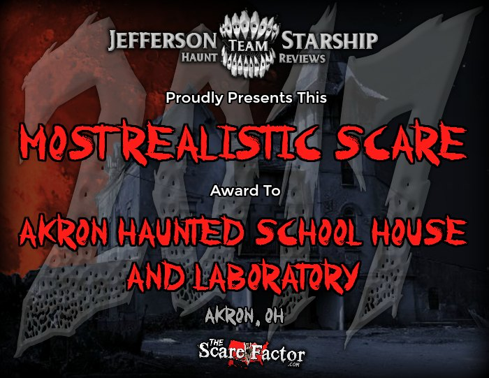 Most Realistic Scare Award