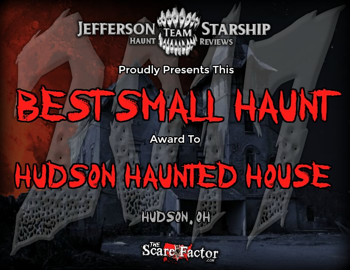 Best Small Haunt Award