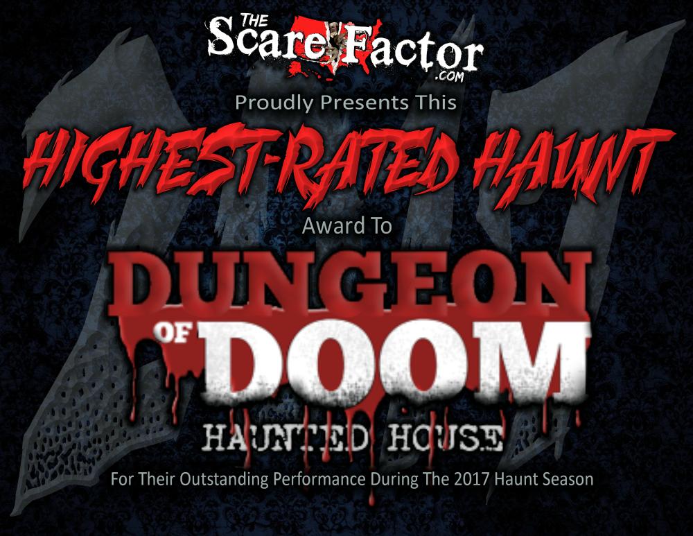 Highest Rated Haunt Dungeon of Doom
