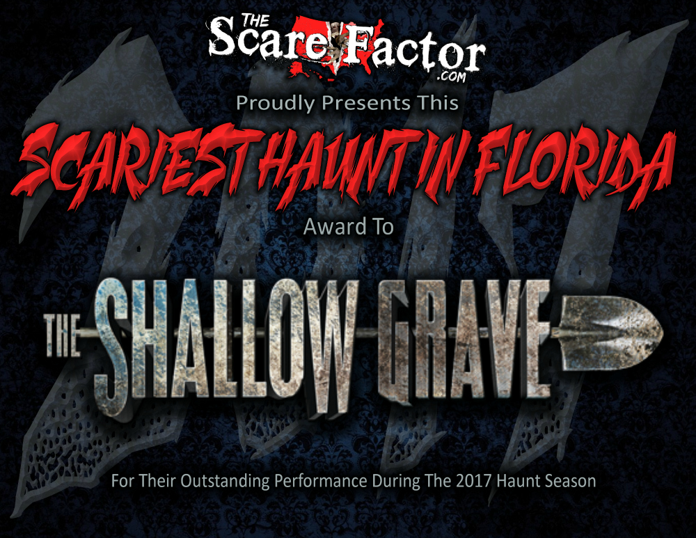 Scariest Haunted House in Florida Shallow Grave