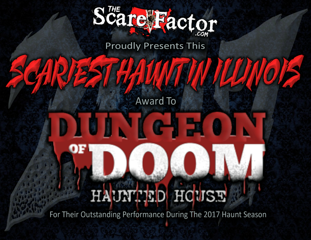 Scariest Haunted House in Illinois Dungeon of Doom