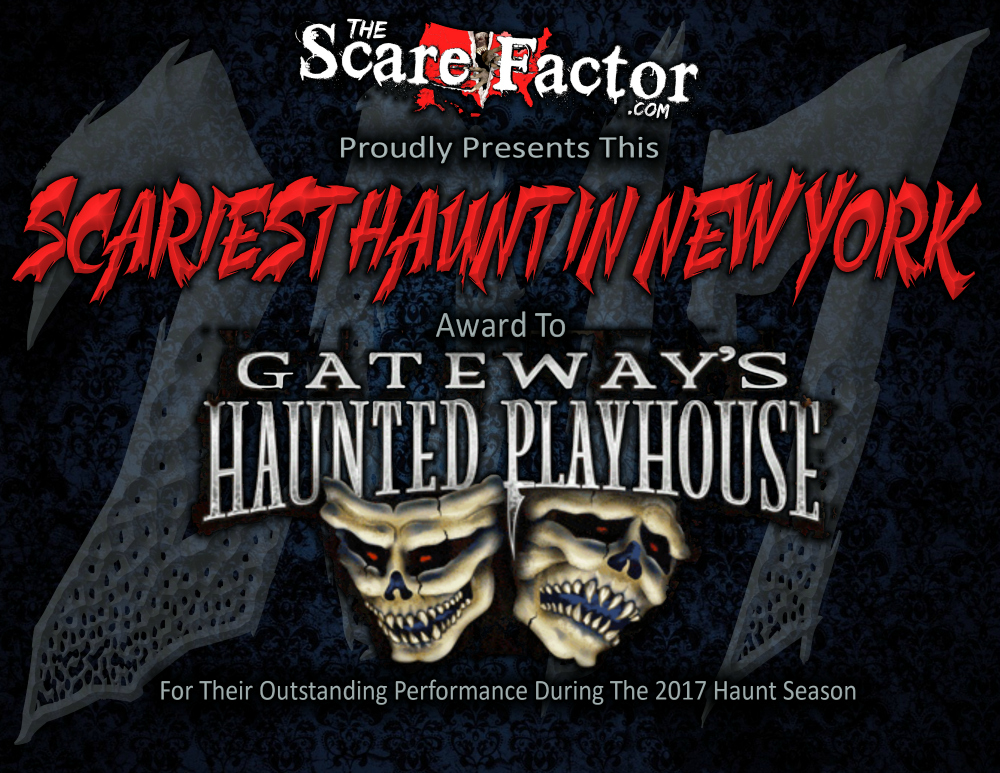 Scariest Haunted House in New York Gateways Haunted Playhouse
