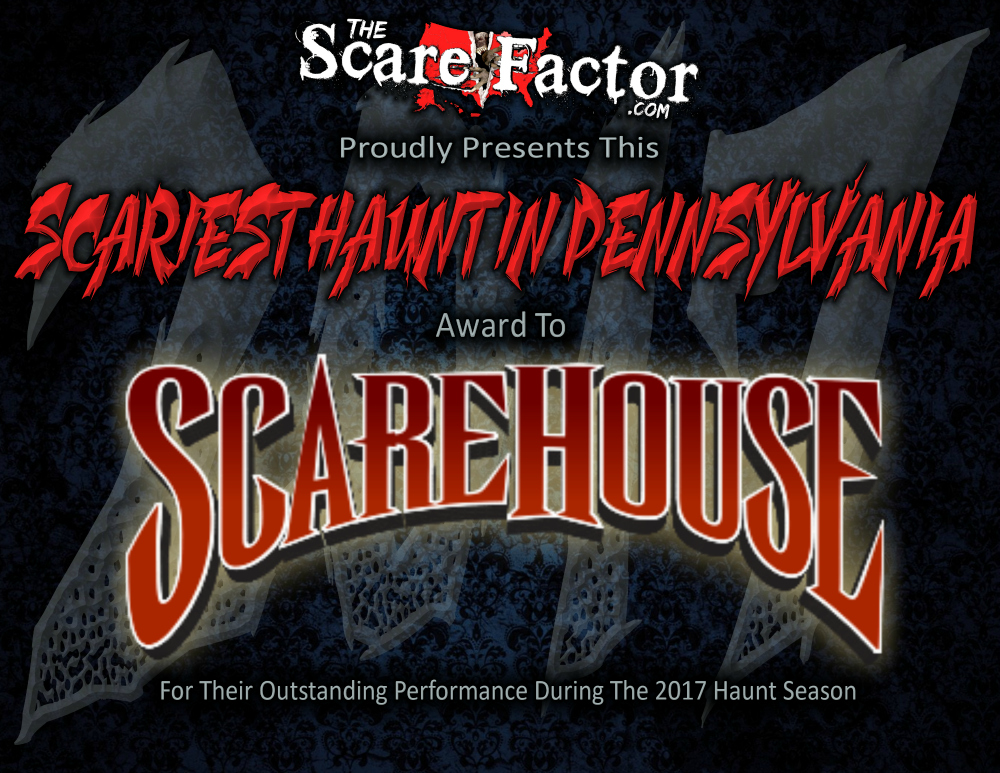 Scariest Haunted House in Pennsylvania Scarehouse