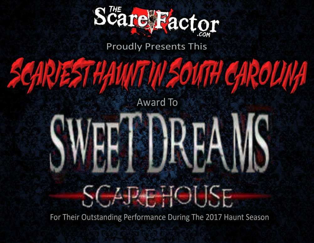 Scariest Haunted House in South Carolina Sweet Dreams Scarehouse