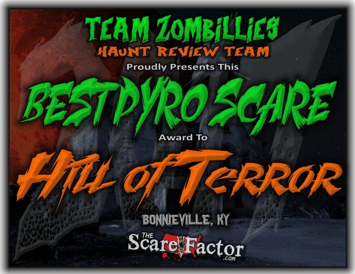 Best Pyro Scare Award