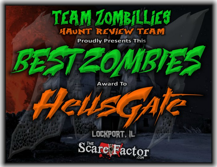 Best Zombies Award