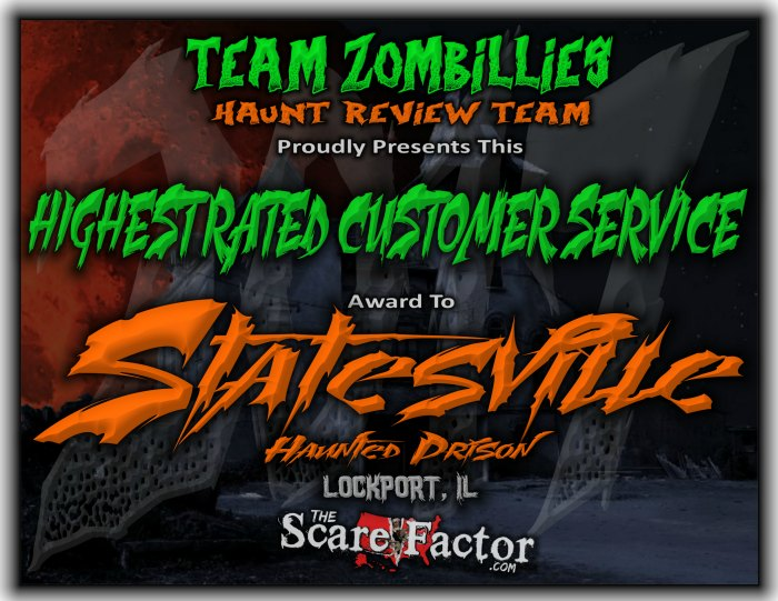 Highest Rated Customer Service Award