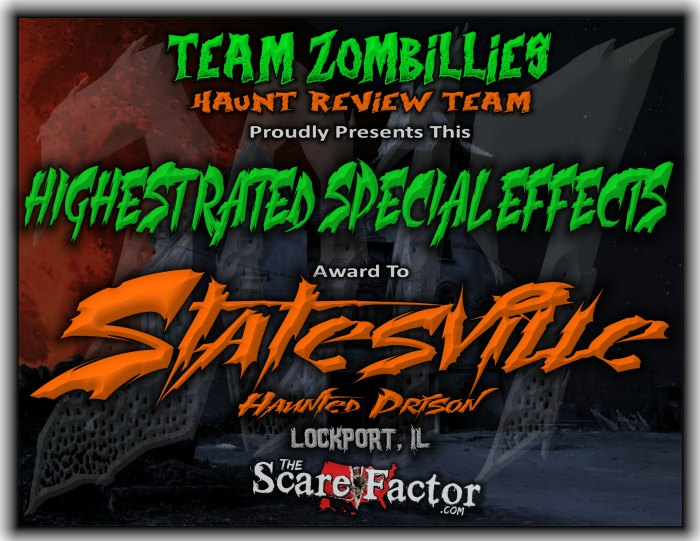 Highest Rated Special Effects Award