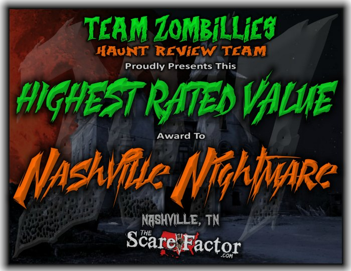 Highest Rated Value Award