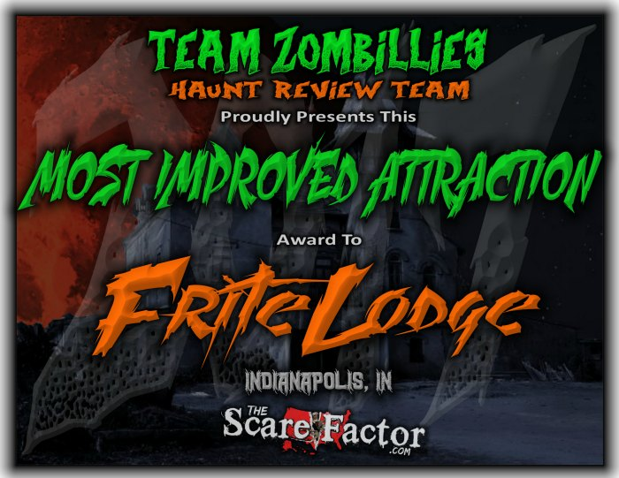 Most Improved Attraction Award