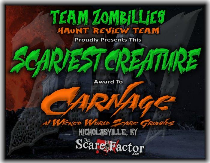 Scariest Creature Award