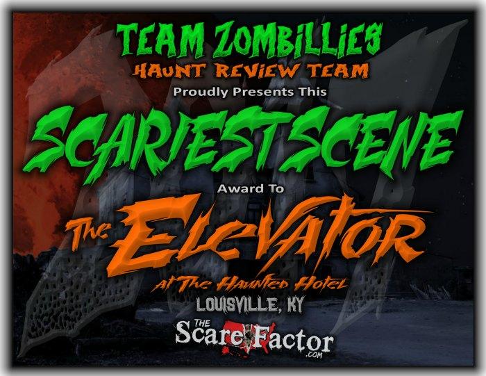 Scariest Scene Award