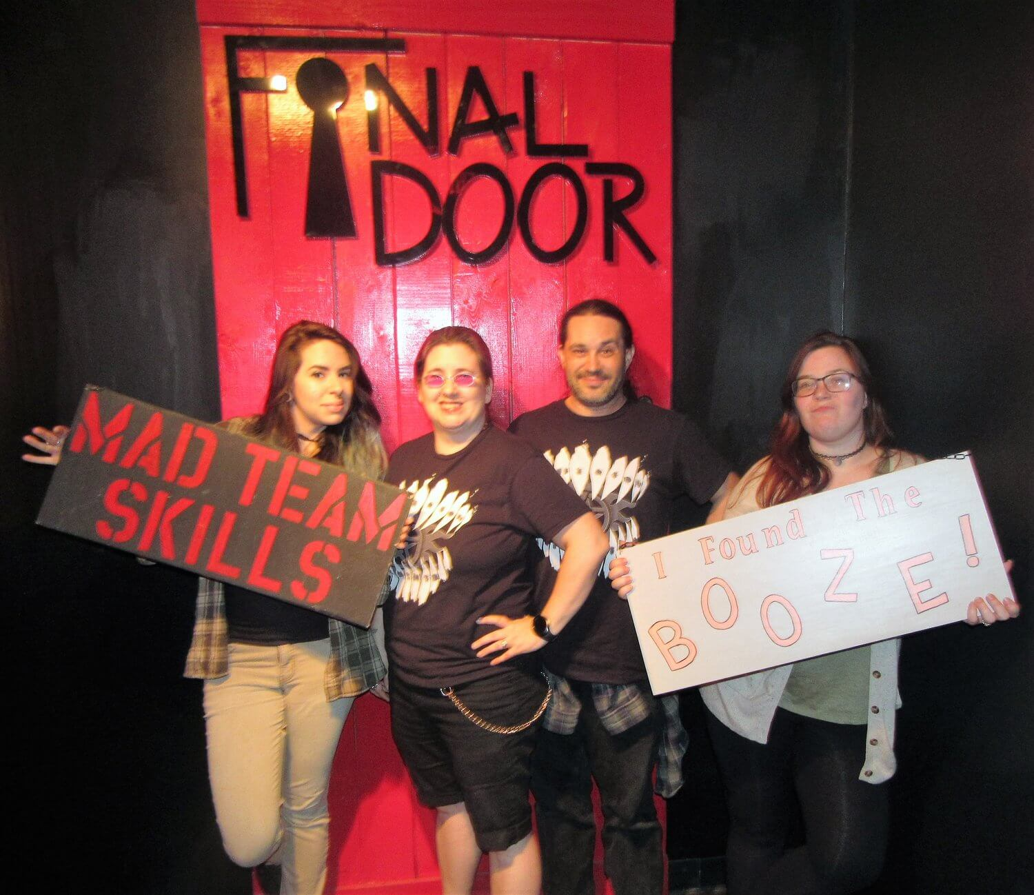 Photos from Review Trip  sc 1 st  The Scare Factor & Blackout at The Final Door 2017 Review - The Scare Factor Escape Revie