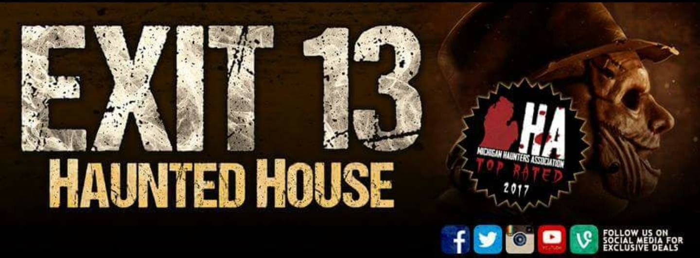 Exit 13 haunted house friday 13th