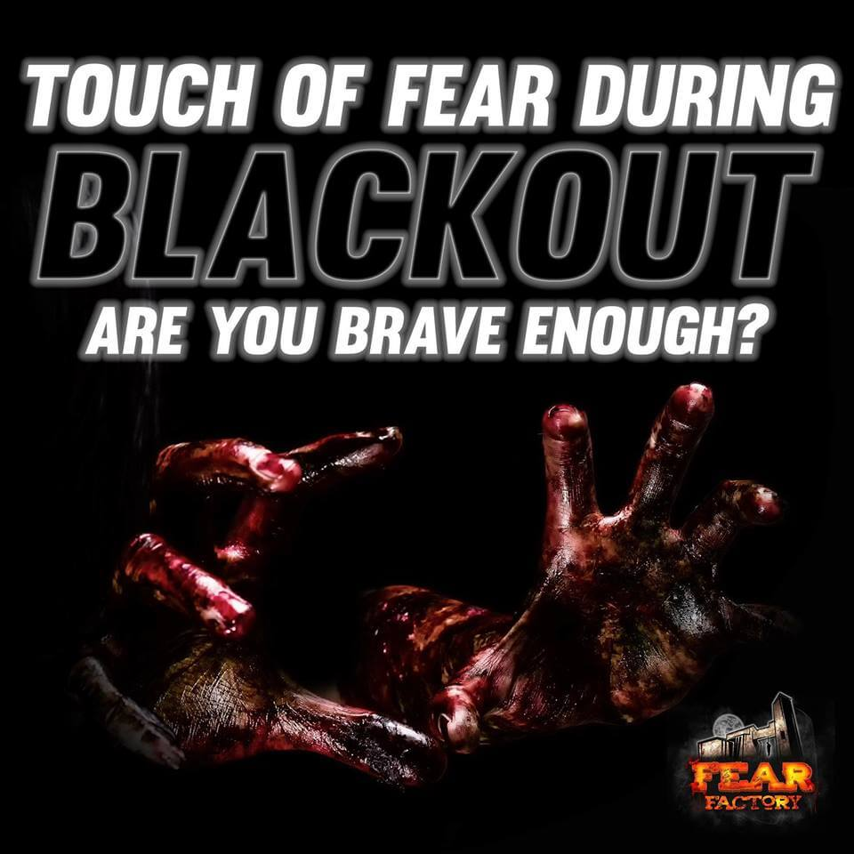 Fear Factory Utah Blackout