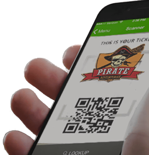 haunted house ticketing mobile app
