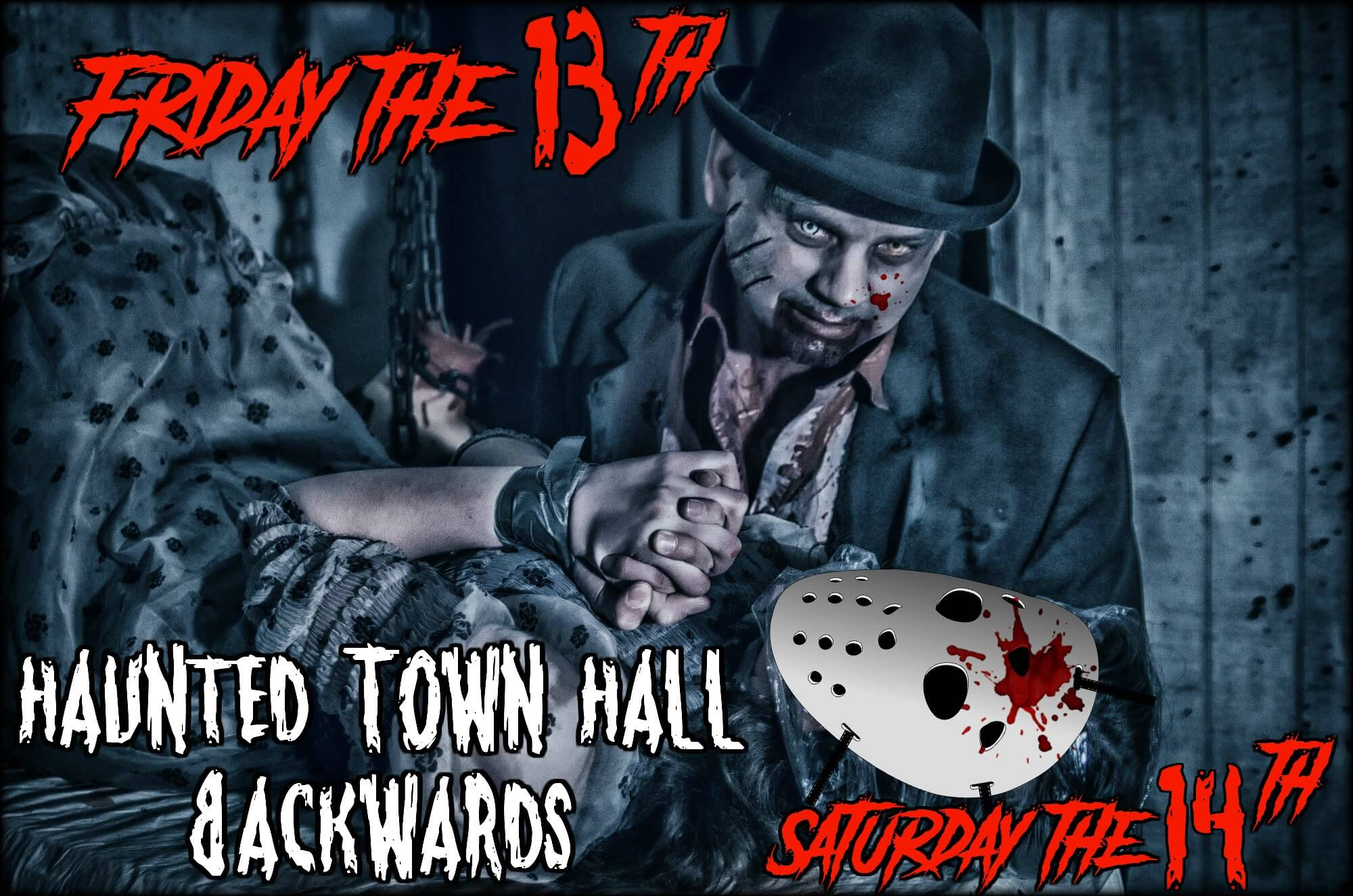 Haunted Town Hall Friday the 13th