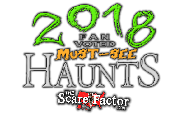 2018 Fan-Voted Must-See Top Haunts Badge