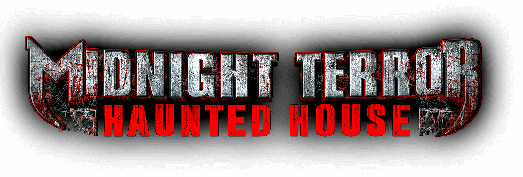 Midnight Terror Haunted House Logo
