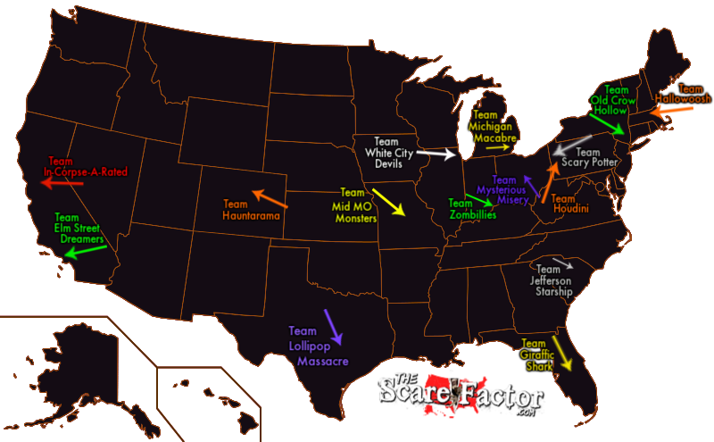 The Scare Factor's Halloween Haunted House Attraction Review Teams