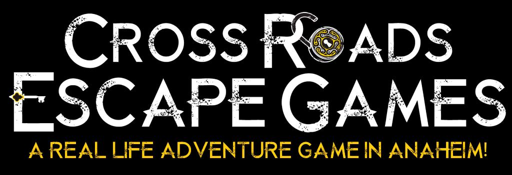 cross roads escape games anaheim logo