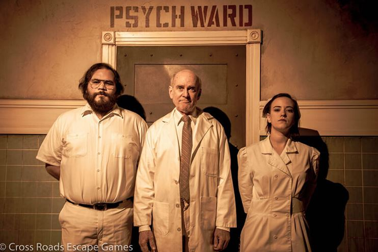 cross roads escape games psych ward promo
