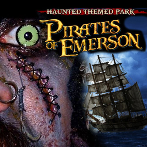 Pirates of Emerson Haunted Themed Park California