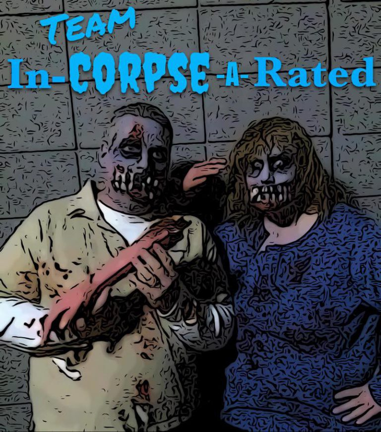 Team In-Corpse-A-Rated - The Scare Factor's California Halloween Haunted House Review Team