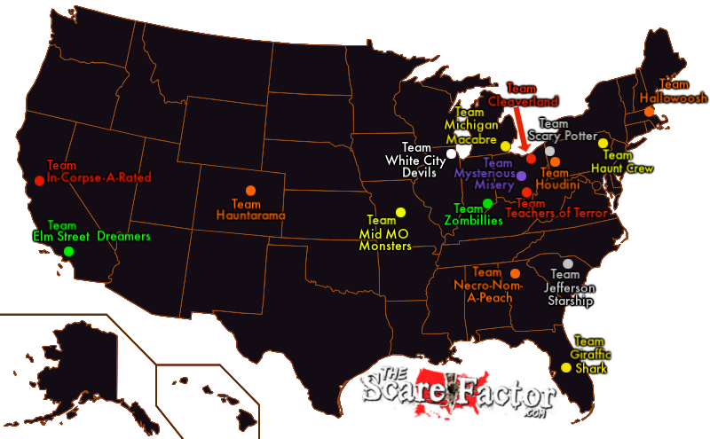 The Scare Factor Scream Teams Haunt Review Teams