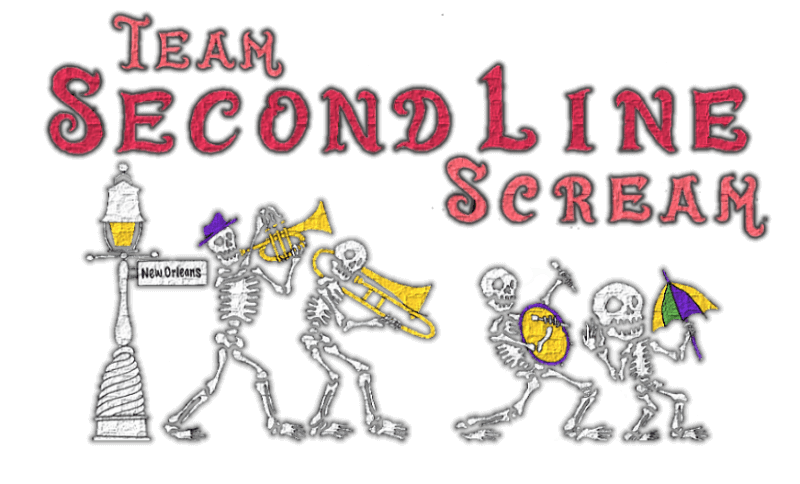 Team Second Line Scream - The Scare Factor's Louisiana Halloween Haunted House Review Team