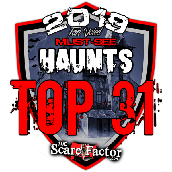 Top 31 Haunted Houses 2019 Badge