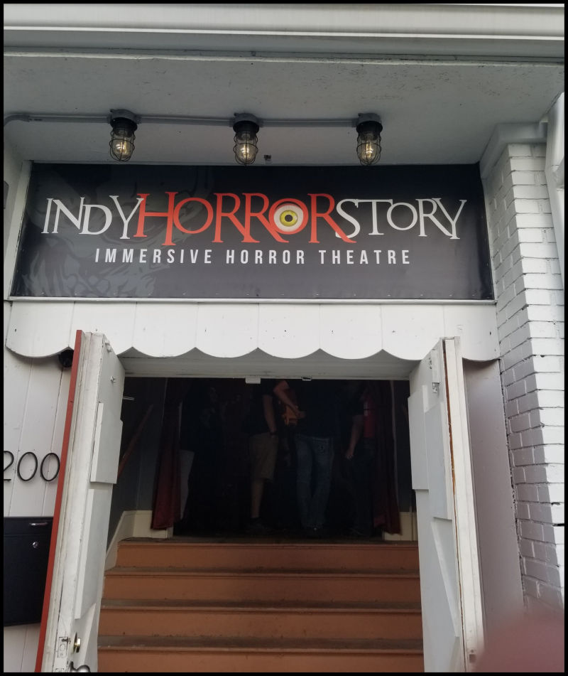 Indy Horror Story Entrance