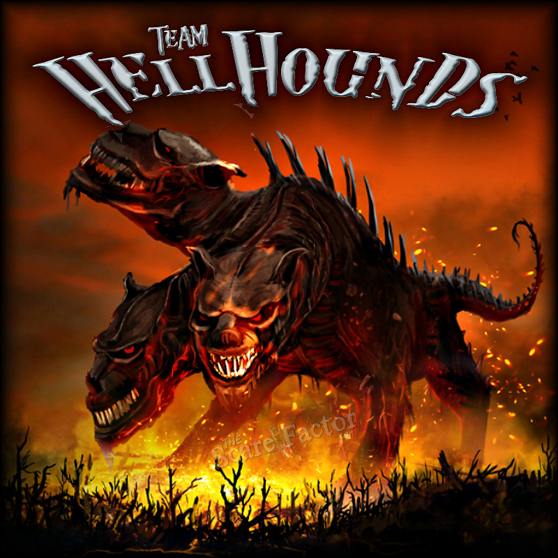 Team Hellhounds - The Scare Factor's Virginia Halloween Haunted House Review Team