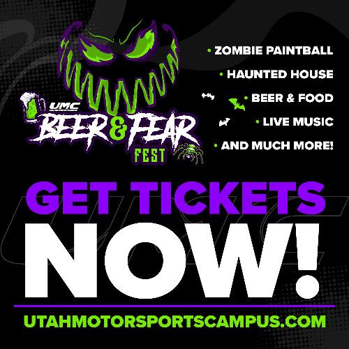 Beer and Fear Fest Utah Motorsports